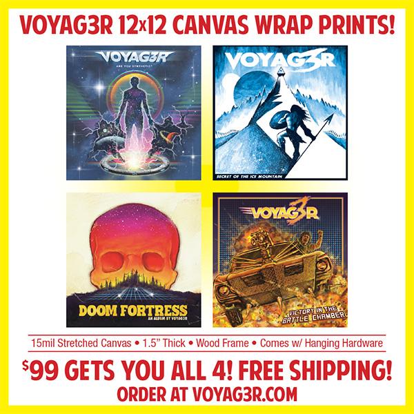 Voyag3r Stretched Canvas Prints