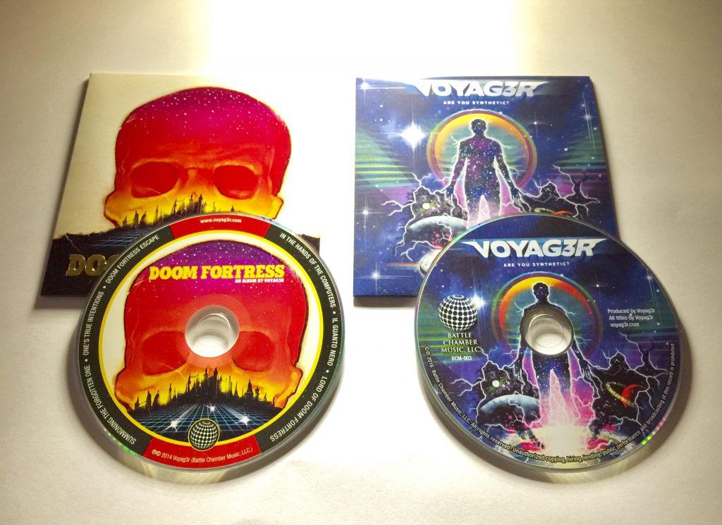 Voyag3r CDs